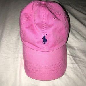 Pink Polo cap